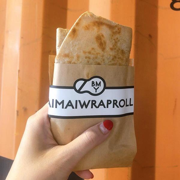 BAIMAIWRAPROLL キーマカレーのケサディージャラップ 500円